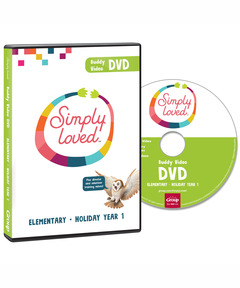 Simply Loved Elementary Buddy Video DVD - Holiday Year 1