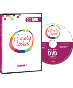 Simply Loved Music Video DVD - Quarter 1