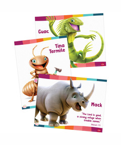 Simply Loved Bible Memory Buddy Posters - Quarter 2