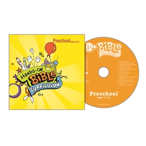 Hands-On Bible Curriculum Preschool Extra CD – Spring 2021