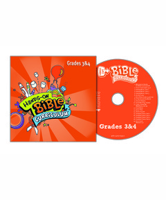 Hands-On Bible Curriculum Grades 3&4 Extra CD – Spring 2021