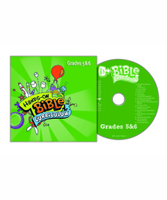 Hands-On Bible Curriculum Grades 5&6 Extra CD – Spring 2021