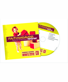 FaithWeaver NOW Infants, Toddlers & 2s CD - Spring 2021