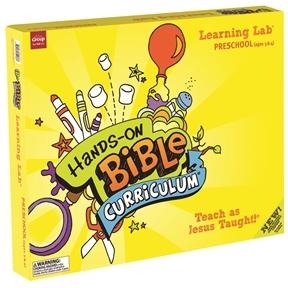 Hands-On Bible Curriculum Preschool Learning Lab – Summer 2021