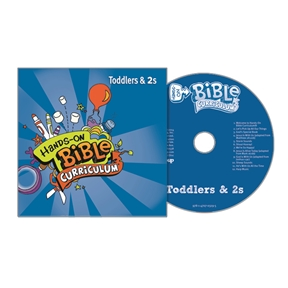 Hands-On Bible Curriculum Toddlers & 2s Extra CD – Summer 2021
