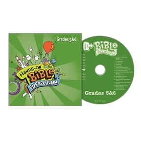 Hands-On Bible Curriculum Grades 5&6 Extra CD – Summer 2021