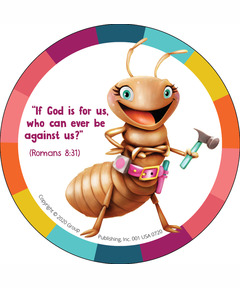 Simply Loved Bible Memory Buddy Stickers, Quarter 2 - Tina
