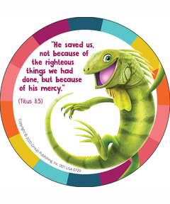 Simply Loved Bible Memory Buddy Stickers, Quarter 2 - Guac