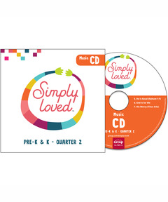 Simply Loved Pre-K & K Music CD - Quarter 2