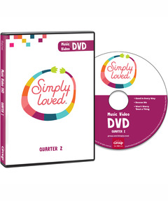 Simply Loved Music Video DVD - Quarter 2