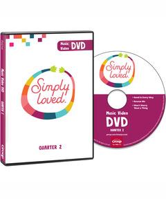Simply Loved Music Video DVD - Quarter 2