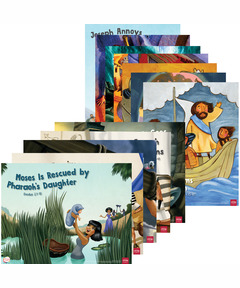 Simply Loved Bible Story Posters - Quarter 2