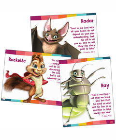Simply Loved Bible Memory Buddy Posters—Quarter 3