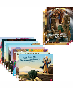 Simply Loved Bible Story Posters—Quarter 3
