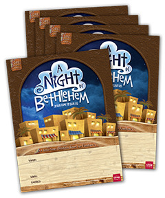 Night in Bethlehem Publicity Posters