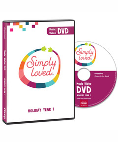 Simply Loved Music Video DVD - Holiday Year 1