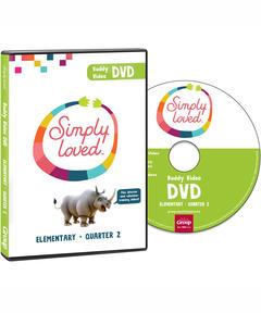 Simply Loved ElementaryBuddy Video DVD - Quarter 2