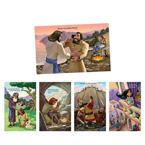 Treasured Bible Story Posters