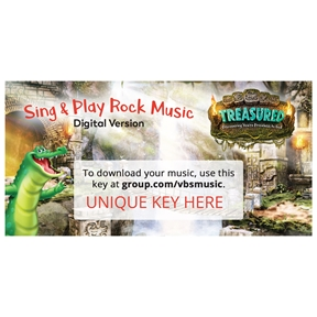 Sing & Play Rock Music Album Download Codes
