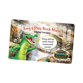 Sing & Play Treasured Rock Music Download Card