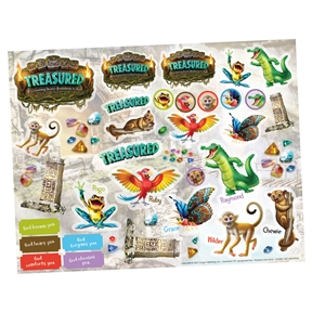 Treasured Sticker Sheet