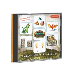Treasured Clip Art & Resources CD