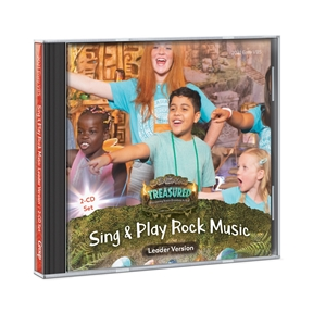 Treasured Sing & Play Rock Music Leader Version 2-CD Set