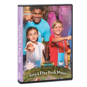 Treasured Sing & Play Rock Music DVD