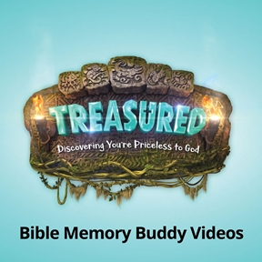 Downloadable Treasured Bible Memory Buddy Intro Videos Set