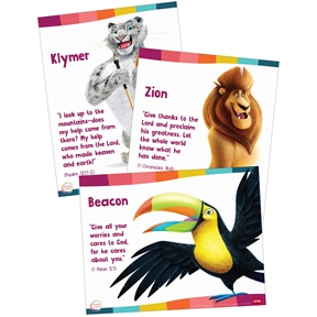 Simply Loved Bible Memory Buddy Posters - Quarter 5