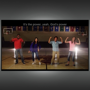 Power Shuffle Music Video and Web License