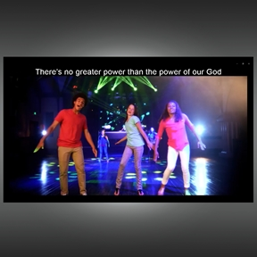 I Sing the Mighty Power of God Music Video and Web License