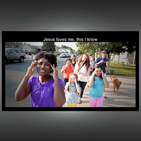 Jesus Loves Me Music Video and Web License
