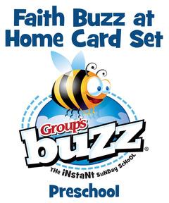 Preschool Faith Buzz at Home Card Pack - Fall