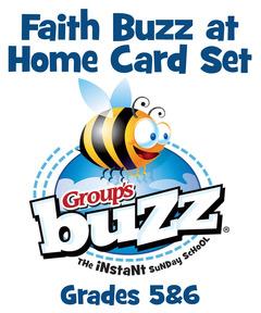 Grades 5&6 Faith Buzz at Home Card Pack - Fall