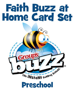 Preschool Faith Buzz at Home Card Pack - Winter