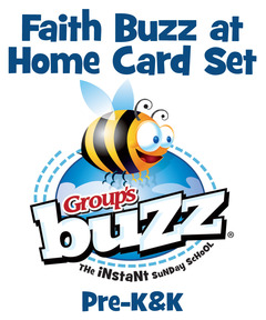 Pre-K&K Faith Buzz at Home Card Pack - Winter