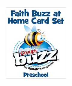 Preschool Faith Buzz at Home Card Pack - Spring 2021