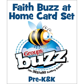 Pre-K&K Faith Buzz at Home Card Pack - Spring 2021
