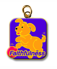 FaithWeaver Friends Fruit of the Spirit Keys - Faithfulness