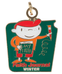 FaithWeaver Friends Faith Journal Key - Winter