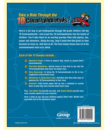 Commandments kids 10 for Teach the