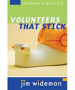 Children's Ministry Volunteers That Stick