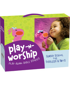 Play-n-Worship: Play-Along Bible Stories for Toddlers & Twos