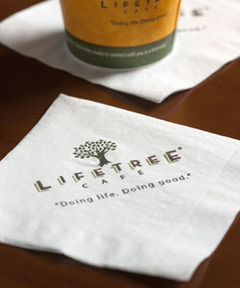 Lifetree Cafe Napkins