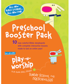 Play-n-Worship: Booster Pack for Preschoolers