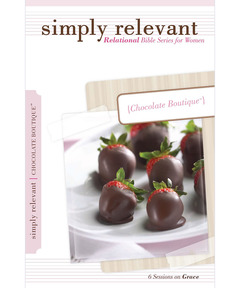 Simply Relevant: Chocolate Boutique (pdf download)