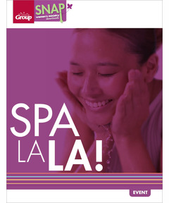 Spa La La! (pdf download)