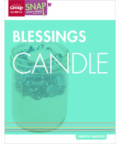 Blessings Candle (pdf download)