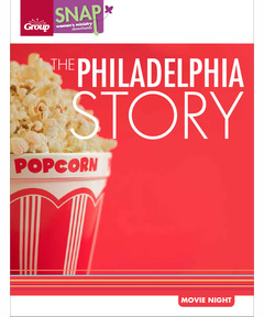 The Philadelphia Story Movie Night (pdf download)